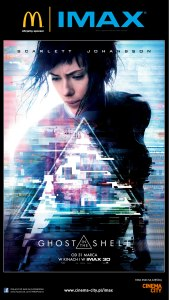 Ghost In The Shell_IMAX_Plakat