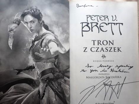 Brett - autograf