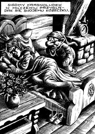 Ilustracja 4. Fragment komiksu z serii Bajki tylko dla dorosłych